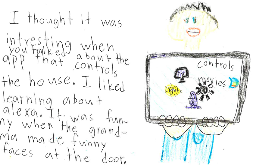 STEM EDUCATION LEARNS ABOUT HOME AUTOMATION: for fun,