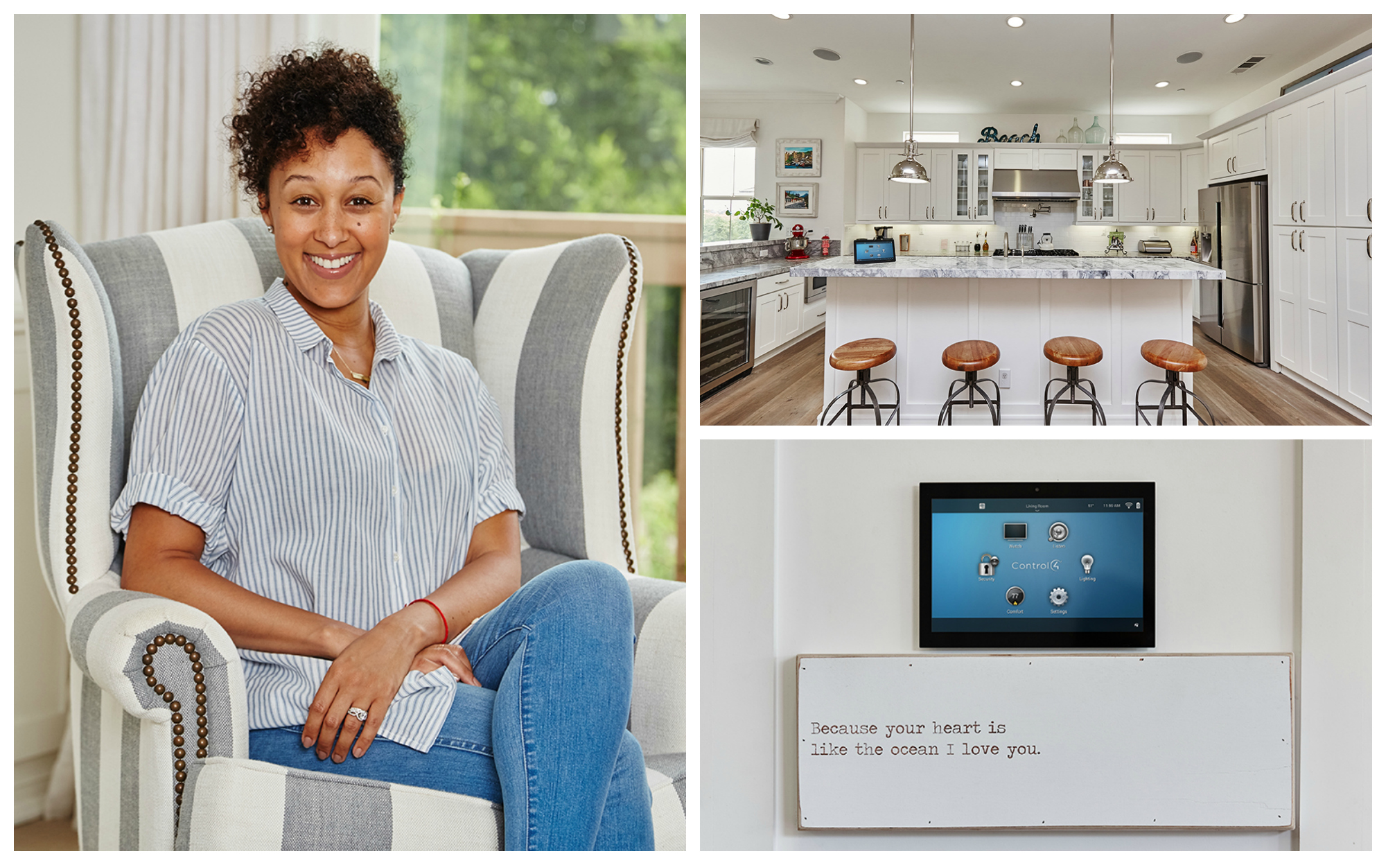 Talking Tech with Tamera: A Celebrity Supermom with a Secret Weapon: california, los-angeles, smart-home-stories,